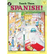 Instructional Fair Teach Them Spanish! Resource Book, Grade 5