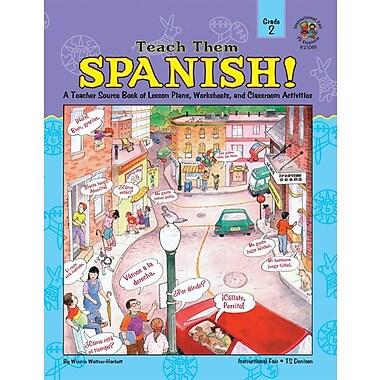 Instructional Fair Teach Them Spanish! Resource Book, Grade 2