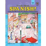 Instructional Fair Teach Them Spanish! Resource Book, Grade 2