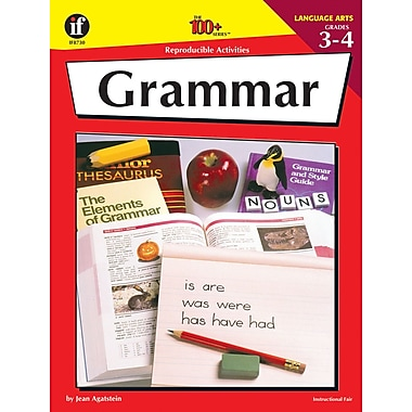 Instructional Fair Grammar Resource Book, Grades 3 - 4