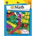 Instructional Fair Mixed Skills in Math Resource Book, Grades 7 - 8