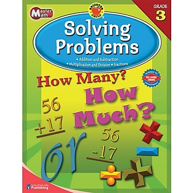 Brighter Child Master Math Workbook, Grade 3