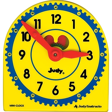 Judy® Instructo Plastic Clock Class Pack Manipulative