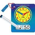 Brighter Child Write and Wipe Judy® Clock with Pen