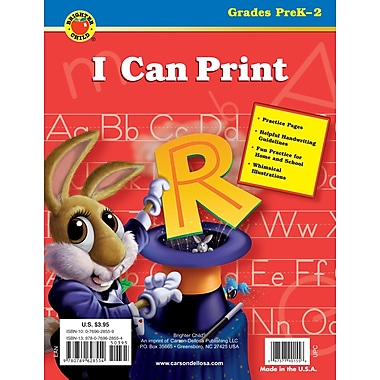 Brighter Child I Can Print Workbook
