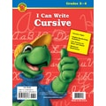 Brighter Child I Can Write Cursive Workbook