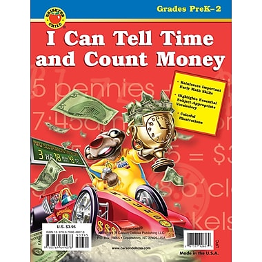 Brighter Child I Can Tell Time and Count Money Workbook