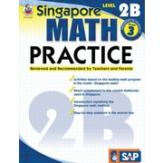Frank Schaffer Math Practice Workbook, Level 2B, Grade 3