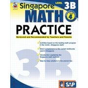 Frank Schaffer Math Practice Workbook, Level 3B, Grade 4