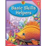 Brighter Child Basic Skills Helpers Workbook, Grade 1