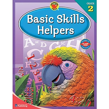 Brighter Child Basic Skills Helpers Workbook, Grade 2