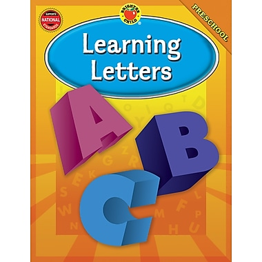 Brighter Child Learning Letters Workbook