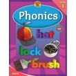 Brighter Child Phonics Workbook, Grade 1