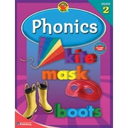 Brighter Child Phonics Workbook, Grade 2