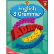 Brighter Child English & Grammar Workbook, Grade 3