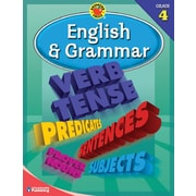 Brighter Child English & Grammar Workbook, Grade 4