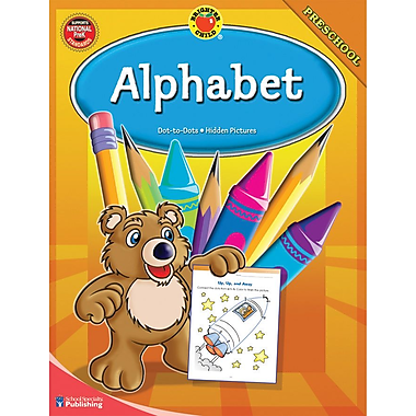 Brighter Child Alphabet Workbook
