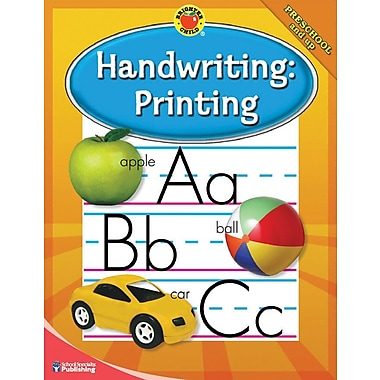 Brighter Child Handwriting: Printing Workbook