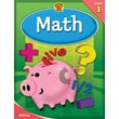 Brighter Child Math Workbook, Grade 1