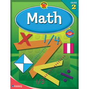 Brighter Child Math Workbook, Grade 2