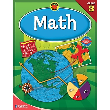 Brighter Child Math Workbook, Grade 3