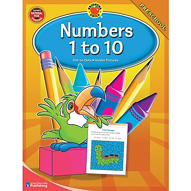 Brighter Child Numbers 1-10 Workbook