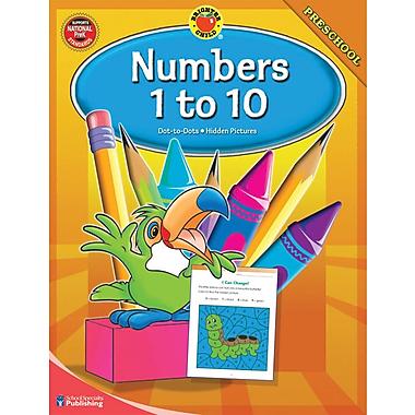Brighter Child Numbers 1-10 Workbook