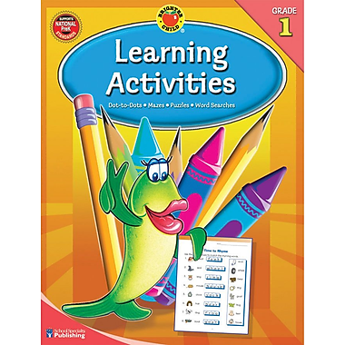 Brighter Child Learning Activities Workbook, Grade 1