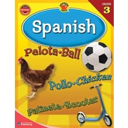 Brighter Child Spanish Workbook, Grade 3