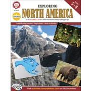 Mark Twain Exploring North America Resource Book, Grades 5 - 8
