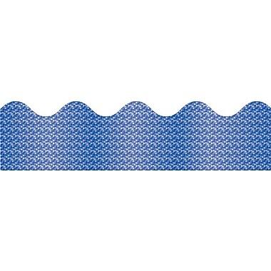 Carson-Dellosa Blue Sparkle Borders