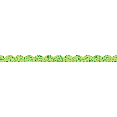 Scholastic Polka Dot Trimmer, Green