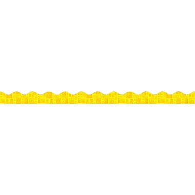 Scholastic Graphic Pattern Trimmer, Yellow