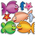 Scholastic Fishy Fun Accent Punch-Outs