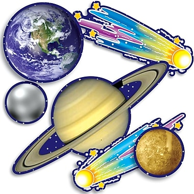 Scholastic Solar System Accent Punch-Outs