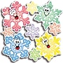 Scholastic Colorful Snowflakes Accent Punch-Outs