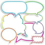 Scholastic Dialogue Bubbles Accent Punch-Outs