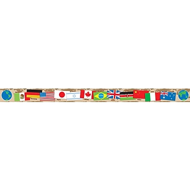 Scholastic International Flags Borders with Corners