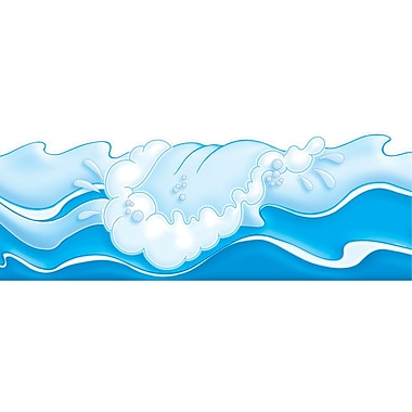 Scholastic Fantastic Ocean Waves Pop Outs, Bulletin Board