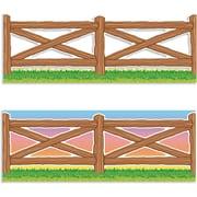 Scholastic Wild West Fence Jumbo Borders