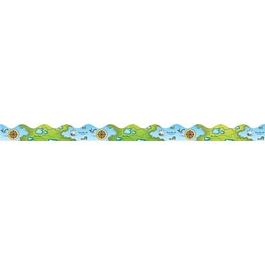 Scholastic Sea Adventure Scalloped Trimmer