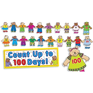 Scholastic 100th Day Counting Bears Bulletin Board