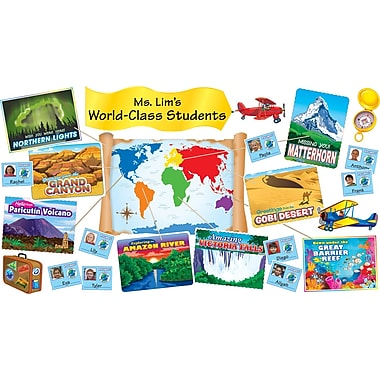 Scholastic Wonders of the World Bulletin Board