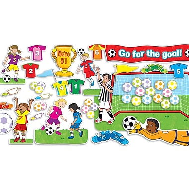 Scholastic Soccer Goals Bulletin Board
