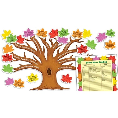 Scholastic Reading Genres Tree Bulletin Board