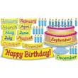 Scholastic Big Birthday Cake! Bulletin Board