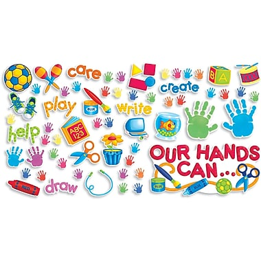 Scholastic Early Learning, Our Hands Can Bulletin Board