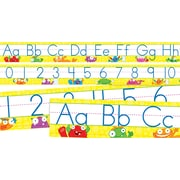 Scholastic Math, Monsters Alphabet and Numbers 0–30 Bulletin Board