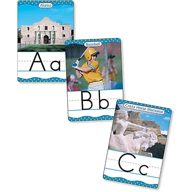 Scholastic Reading, America From A to Z Manuscript Alphabet Set