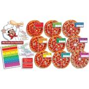 Scholastic Math, Pizza Fractions! Bulletin Board